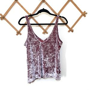 Feel The Piece Terre Jacobs Crushed Velvet Tank